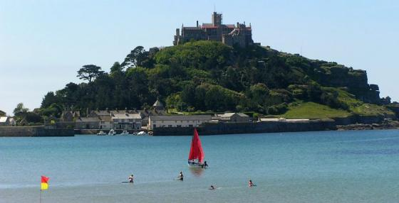 St Michael's Mount and Penzance